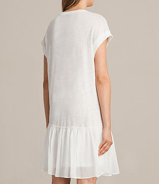 Women's Jody Jersey Dress (Chalk White) - product_image_alt_text_7