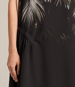 Femmes Rye Neluwa Silk Dress (Black) - product_image_alt_text_4