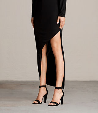 Mujer Evon Dress (Black) - product_image_alt_text_4