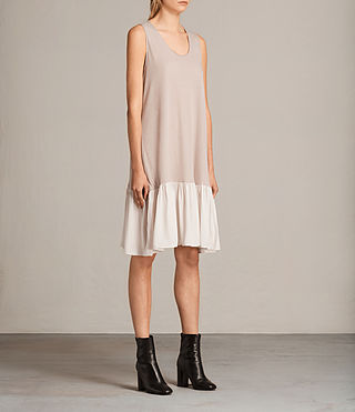 Womens Silvia Dress (ROSE/PALE PINK) - product_image_alt_text_4