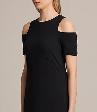 Womens Soraia Dress (Black) - product_image_alt_text_4