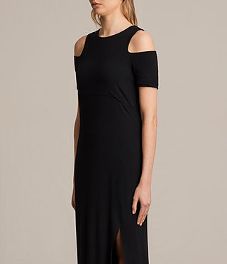 Womens Soraia Dress (Black) - product_image_alt_text_6
