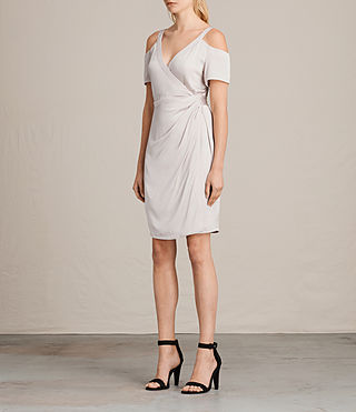Damen Cadia Dress (CHAMPAGNE PINK) - product_image_alt_text_5