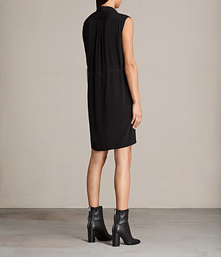 Womens Millie Sleeveless Dress (Black) - product_image_alt_text_6