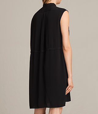 Womens Millie Sleeveless Dress (Black) - product_image_alt_text_7