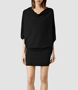 Womens Elgar Dress (Black)