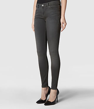 Womens Ember Ashby Jeans (Grey) - product_image_alt_text_2