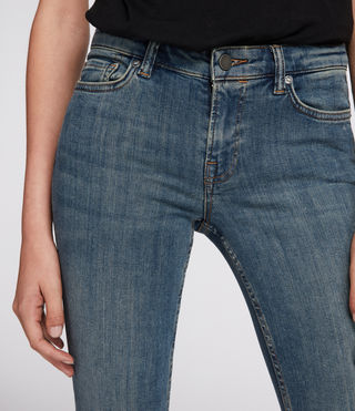 Damen Mast Jeans (Washed Indigo) - product_image_alt_text_3