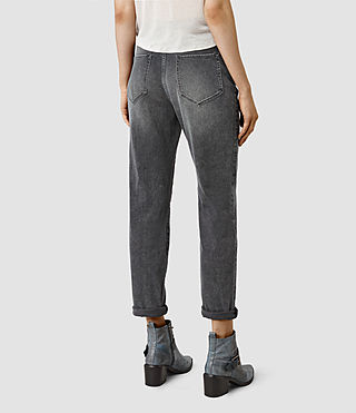 Mujer Amy Girlfriend Jeans (Dark Grey) - product_image_alt_text_3