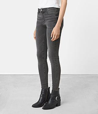 Damen Grace Jeans (Dark Grey)