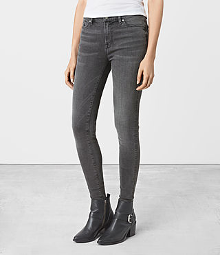 Mujer Grace Jeans (Dark Grey) - product_image_alt_text_2