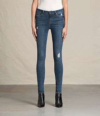 Damen Grace Jeans (DARK INDIGO BLUE) -