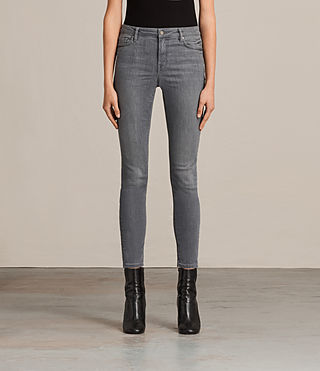 Womens Mast Jeans (Washed Grey)