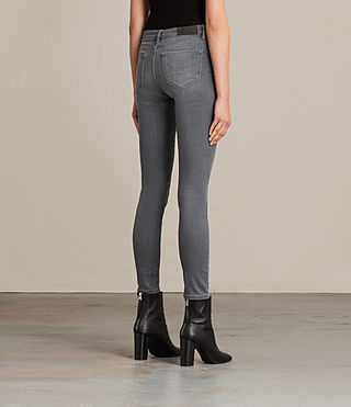 Womens Mast Jeans / Washed Grey (Washed Grey) - product_image_alt_text_2