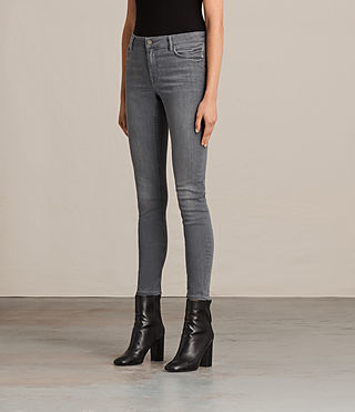Women's Mast Jeans (Washed Grey) - product_image_alt_text_4