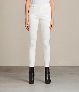 Women's Grace Jeans (White) -