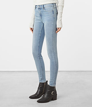 Mujer Eve Jeans (LIGHT INDIGO BLUE) - product_image_alt_text_2