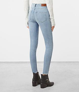 Womens Eve Jeans (LIGHT INDIGO BLUE) - product_image_alt_text_3