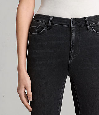 Femmes Jean Grace Slashed (Washed Black) - product_image_alt_text_3