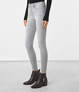Women's Eve Lux Jeans (Steel Grey) - product_image_alt_text_2
