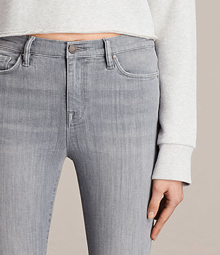 Women's Eve Ankle Jeans (Stone Grey) - product_image_alt_text_2