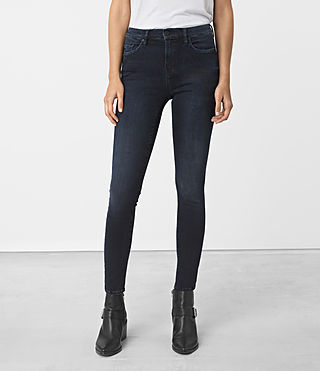 Womens Eve Lux Jeans (Dark Blue)