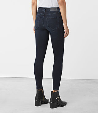 Womens Eve Lux Jeans (Dark Blue) - product_image_alt_text_3