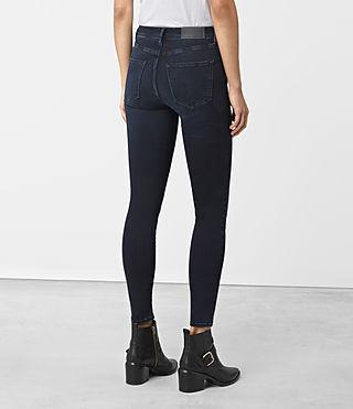 Femmes Eve Lux Jeans (Dark Blue) - product_image_alt_text_3