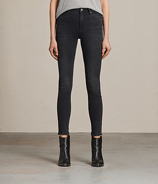 Womens Eve Lux Jeans (Washed Black)