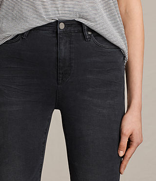 Women's Eve Lux Jeans (Washed Black) - product_image_alt_text_2