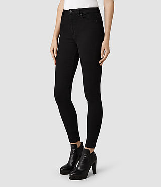 Womens Stilt Jeans / Black (Black) - product_image_alt_text_2
