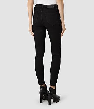 Womens Stilt Jeans / Black (Black) - product_image_alt_text_3