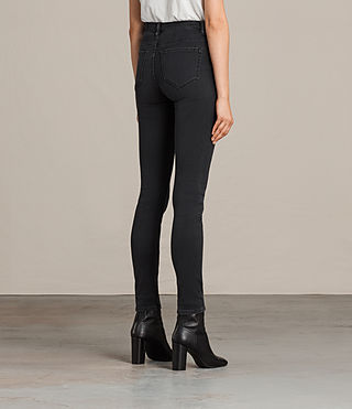 Women's Stilt Jeans (Dark Grey) - Image 2