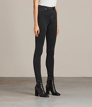 Women's Stilt Jeans (Dark Grey) - Image 4