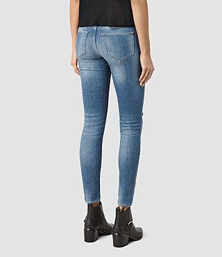 Femmes Mast Destroys Jeans (Fresh Blue) - product_image_alt_text_3