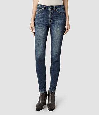 Womens Stilt/Washed Indigo (Washed Indigo)