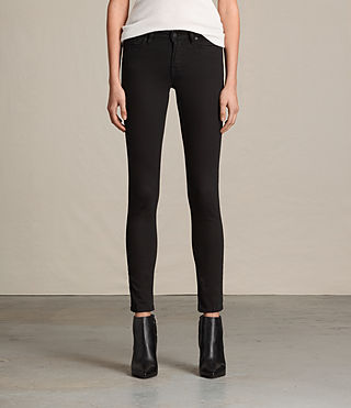 Damen Mast Jeans / Jet Black (Jet Black)