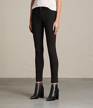 Damen Mast Jeans / Jet Black (Jet Black) - product_image_alt_text_3