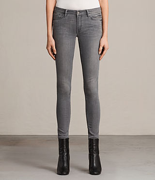 Womens Mast Jeans (Washed Grey) - Image 1