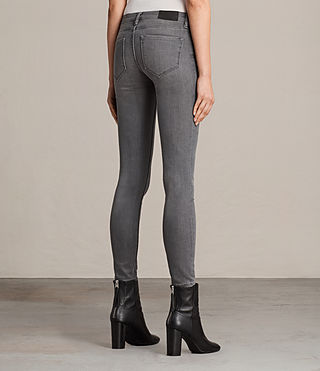 Womens Mast Jeans (Washed Grey) - Image 2