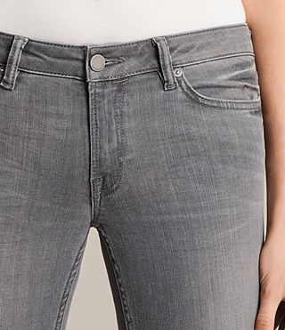 Womens Mast Jeans (Washed Grey) - Image 3