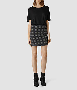Womens Remsen Skirt (Black)