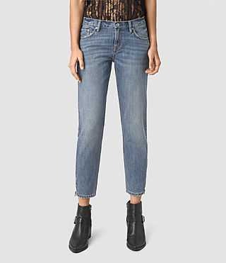Women's Jasper Denim Jeans (Indigo Blue)