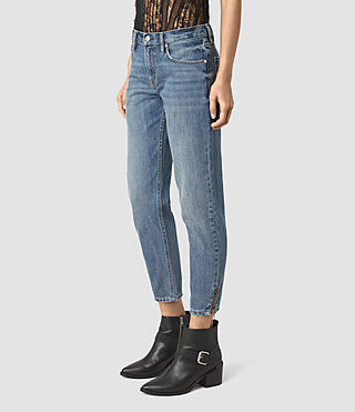 Womens Jasper Denim Jeans (Indigo Blue) - product_image_alt_text_2