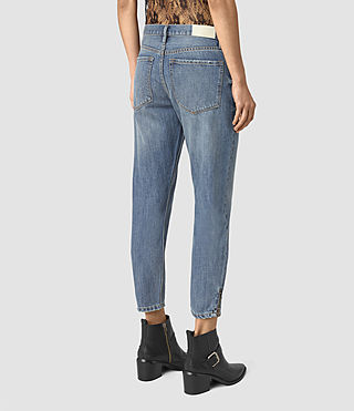 Womens Jasper Denim Jeans (Indigo Blue) - product_image_alt_text_3