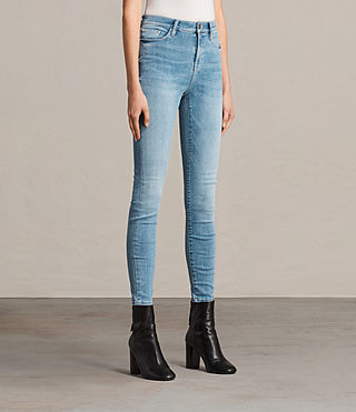 Women's Eve Lux Jeans (Fresh Blue) - Image 4