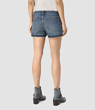 Damen Kim Shorts (DARK INDIGO BLUE) - product_image_alt_text_4