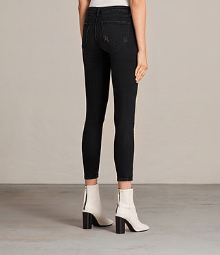 Women's Mast Twisted Jeans (Washed Black) - Image 5