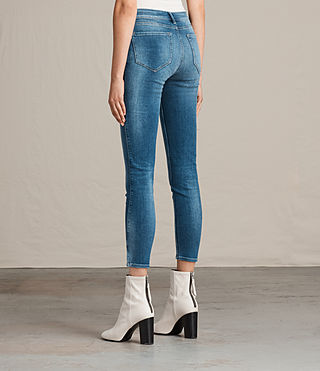 Women's Mast Twisted Jeans (Indigo Blue) - Image 2