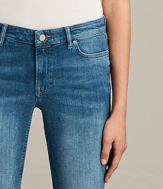 Women's Mast Twisted Jeans (Indigo Blue) - Image 5